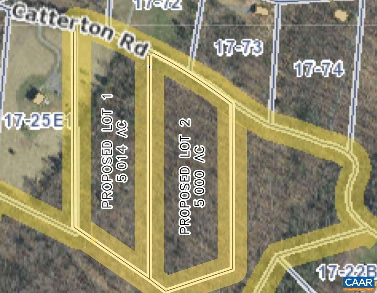 Land for Sale at Lot 2 CATTERTON Road Free Union, Virginia 22940 United States