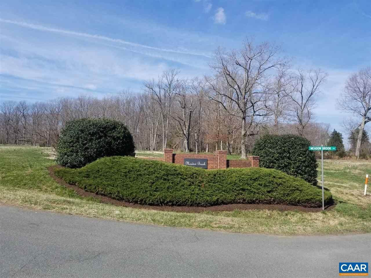 Land for Sale at lot 4 MEADOW BROOK Lane Troy, Virginia 22974 United States