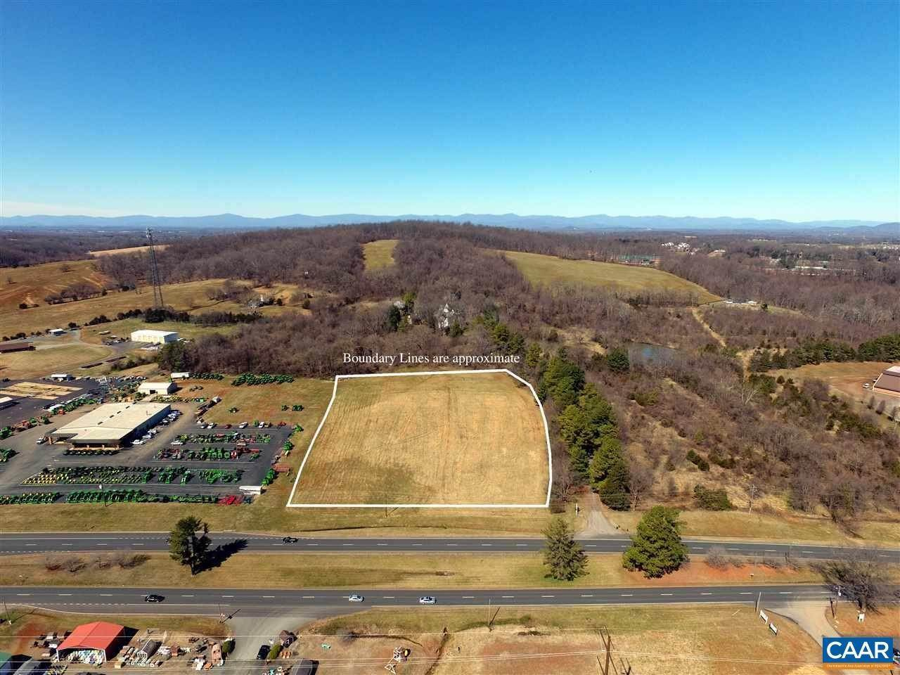 Terrain pour l Vente à S JAMES MADISON HWY Orange, Virginia 22960 États-Unis