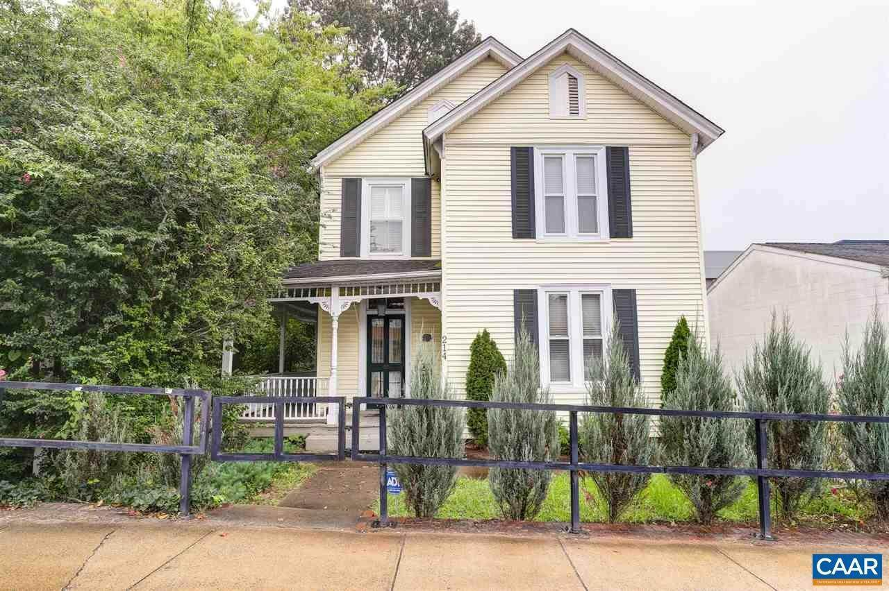 Single Family Homes for Sale at 214 RIDGE Street Charlottesville, Virginia 22902 United States