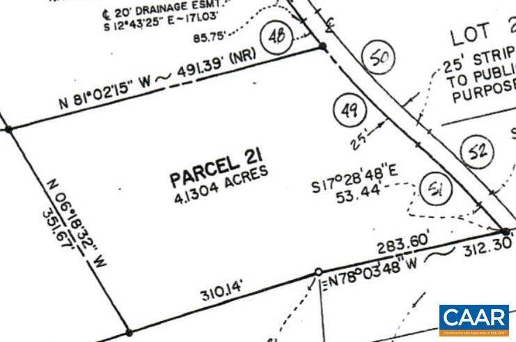 Land for Sale at 7853 W RIDGE Road Arvonia, Virginia 23004 United States