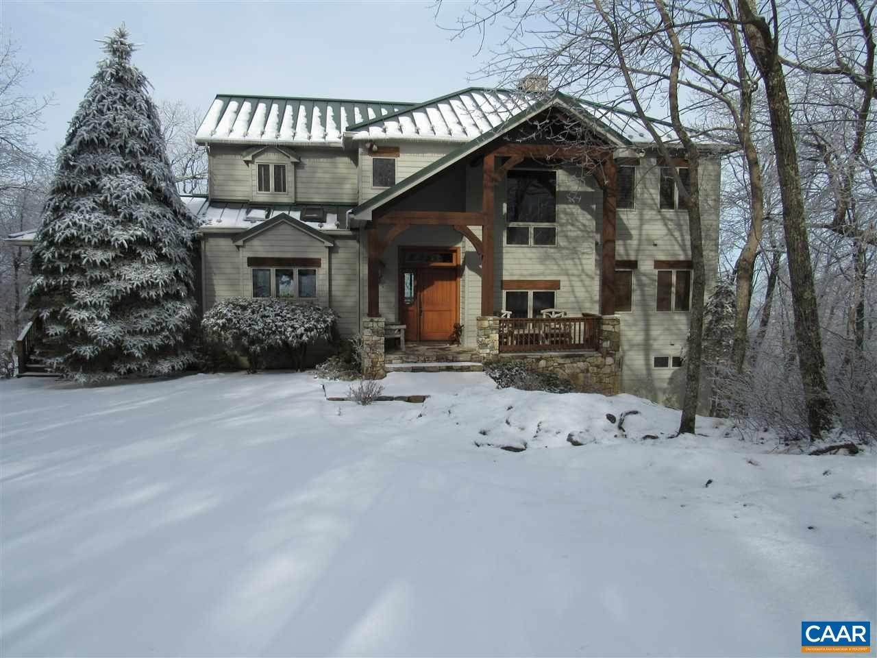 Single Family Homes 为 销售 在 72 VALLEY VIEW Lane Wintergreen, 弗吉尼亚州 22967 美国