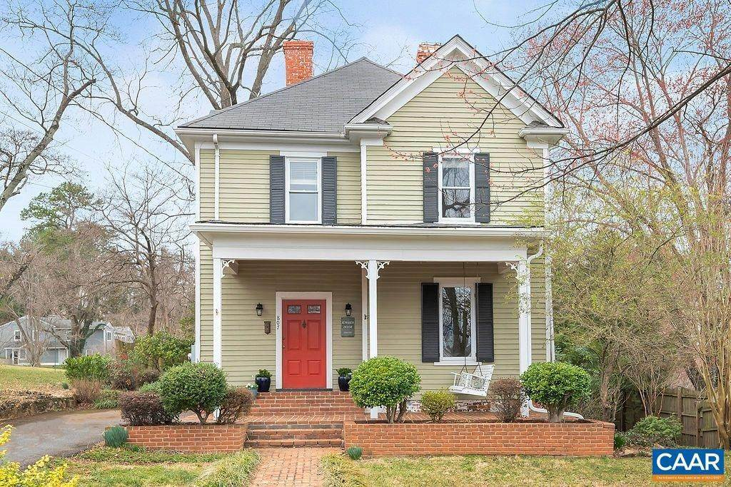 Single Family Homes for Sale at 807 PARK Street Charlottesville, Virginia 22902 United States