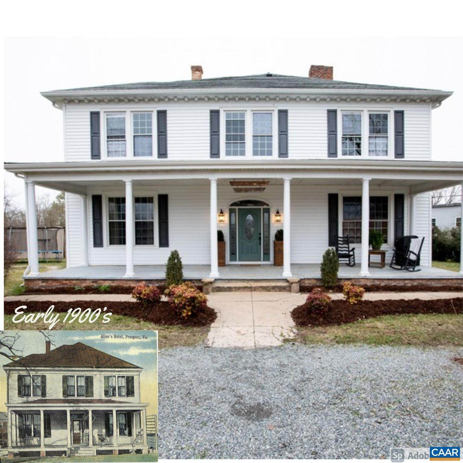 Single Family Homes pour l Vente à 217 RAILROAD Avenue Prospect, Virginia 23960 États-Unis