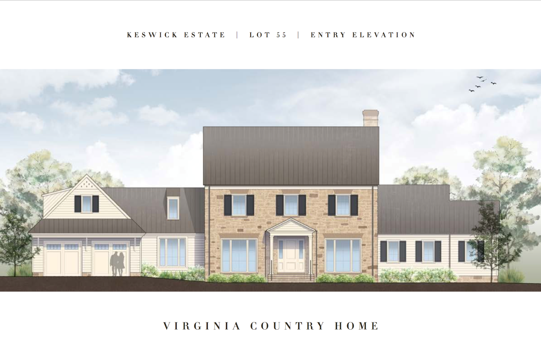 Single Family Homes for Sale at Keswick Virginia Country Home 3280 Broadmoor Drive Keswick, Virginia 22947 United States
