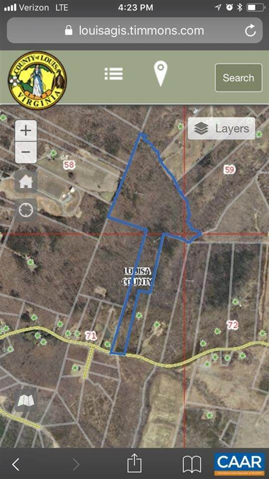 Cuckoo Road Mineral Virginia Land For Sale Details